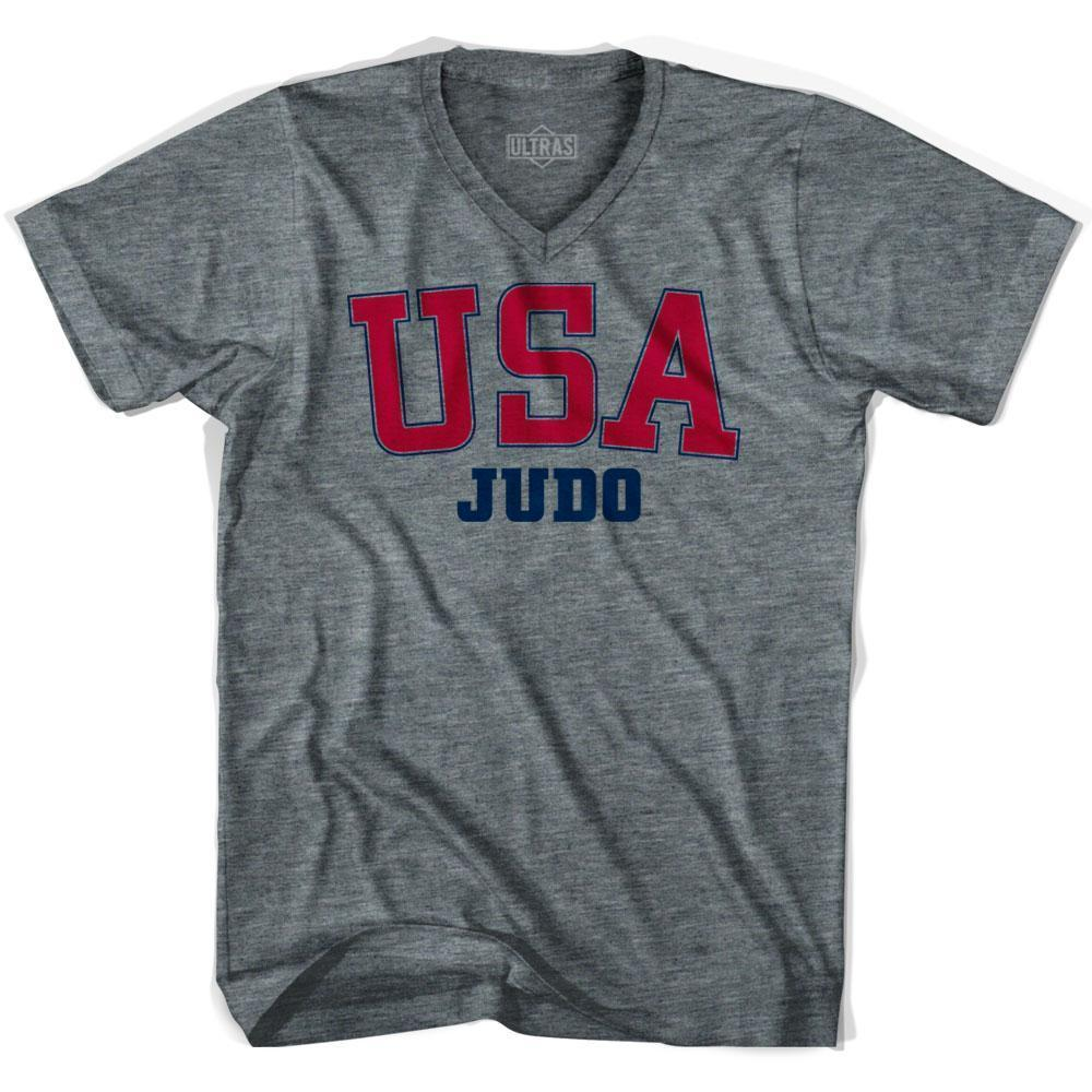USA Judo Ultras V-neck T-shirt by Ultras