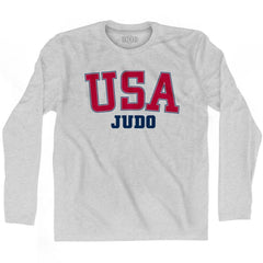 USA Judo Ultras Long Sleeve T-shirt by Ultras