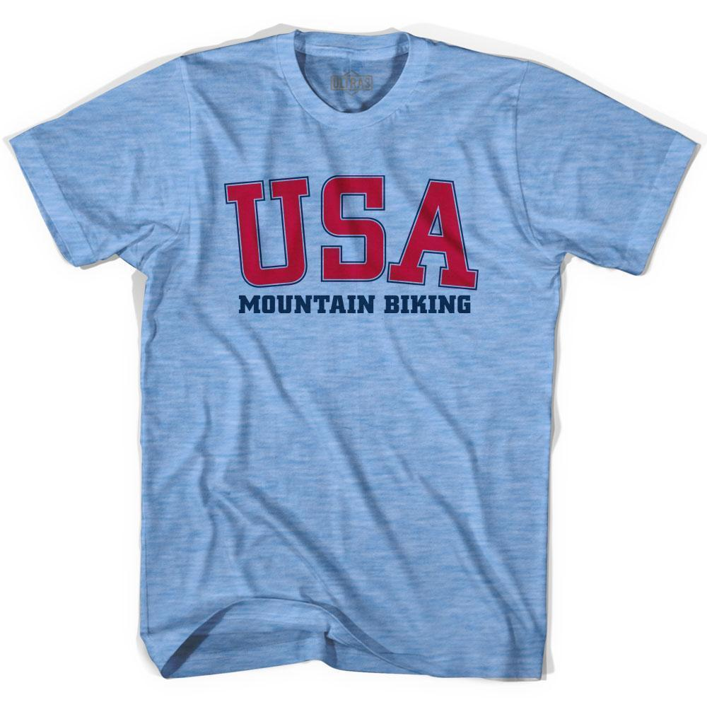 USA Mountain Biking Ultras T-shirt by Ultras