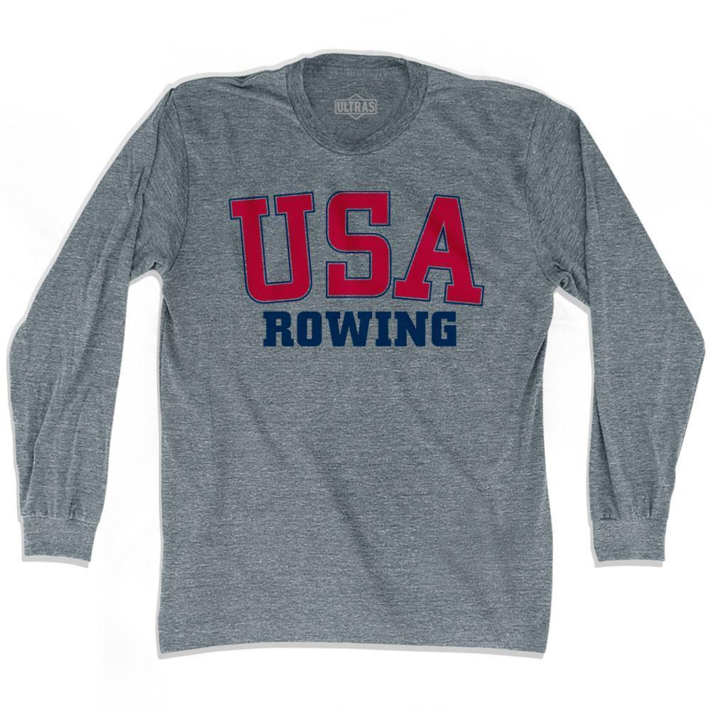 USA Rowing Ultras Long Sleeve T-shirt by Ultras