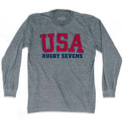 USA Rugby Sevens Ultras Long Sleeve T-shirt by Ultras