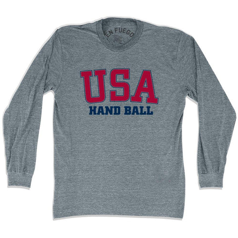 USA Handball Long SleeveT-shirt