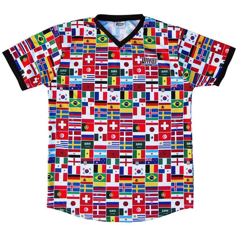 Ultras World Cup 2018 Country Flags Soccer Jersey