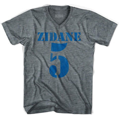 Ultras Zidane 5 Soccer V-neck T-shirt by Ultras
