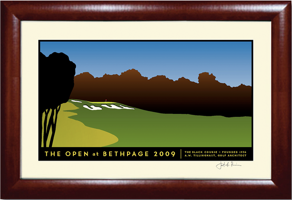 Bethpage No. 15 Golf Print