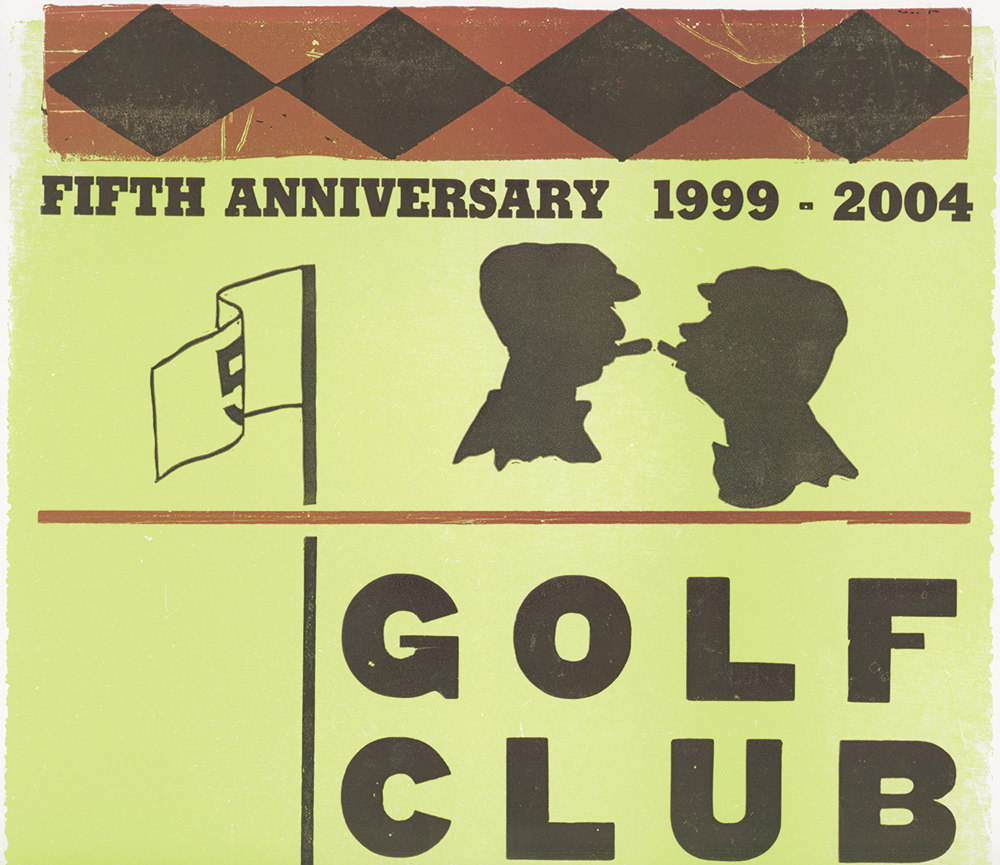 Golf Club Atlas Poster