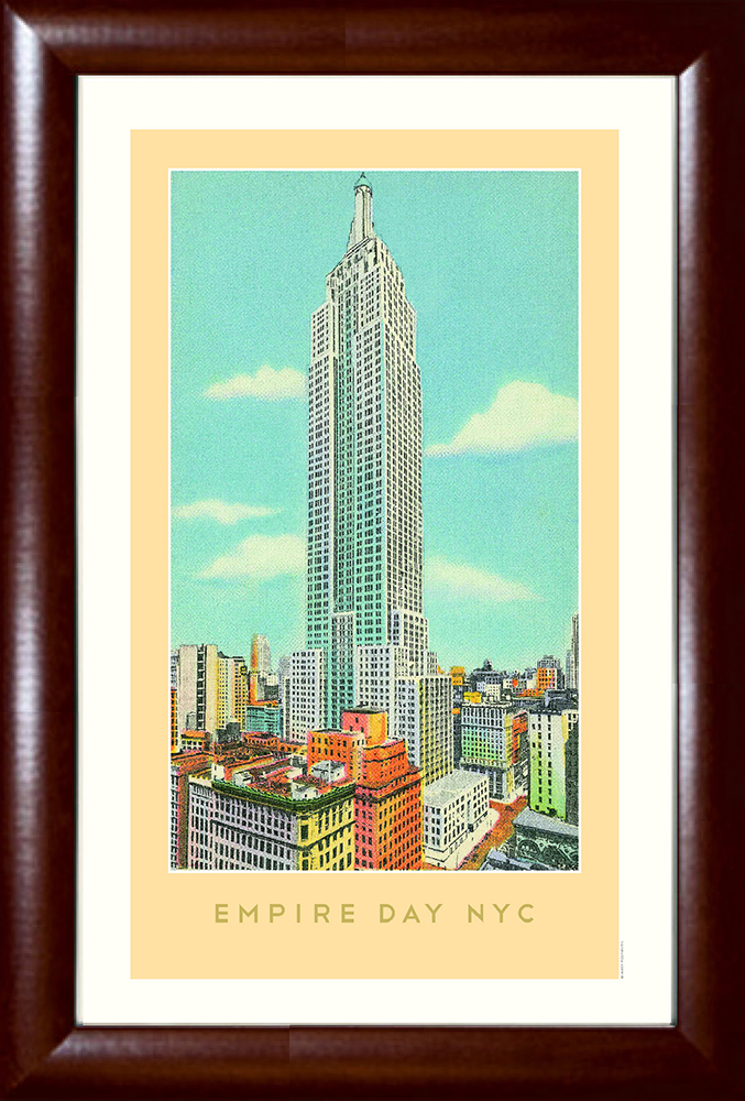 The Empire Day NYC (Empire State Building) Print