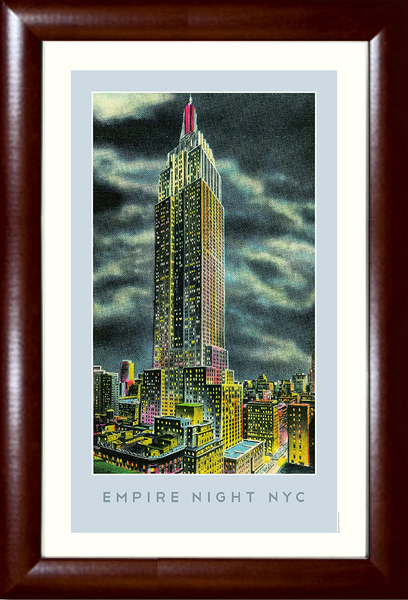 The Empire Night NYC (Empire State Building) Print