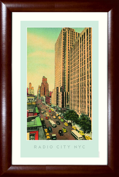 Radio City NYC (Radio City Music Hall) Print
