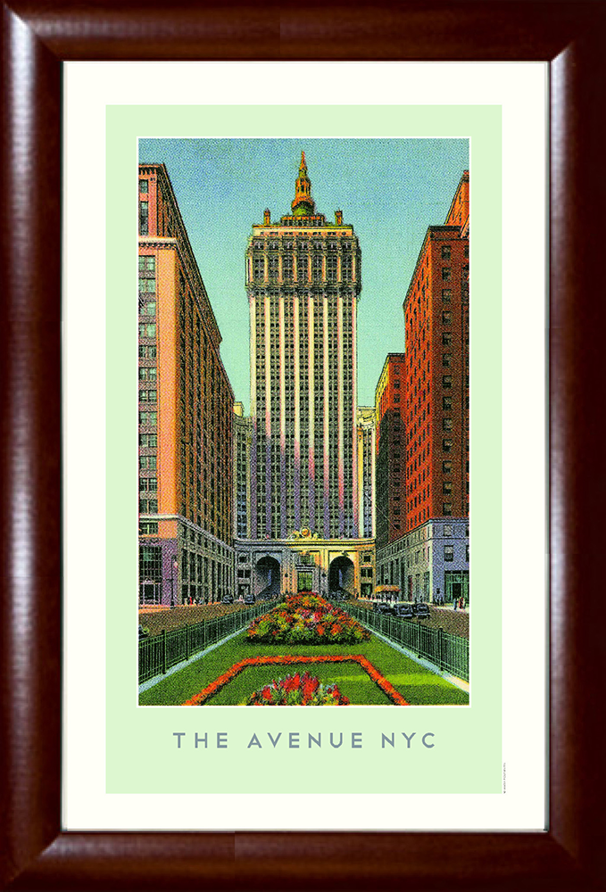 The Avenue NYC (Park Avenue New York) Print