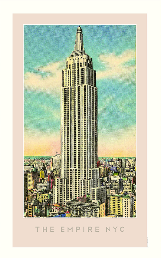 The Empire NYC (Empire State Building) Print