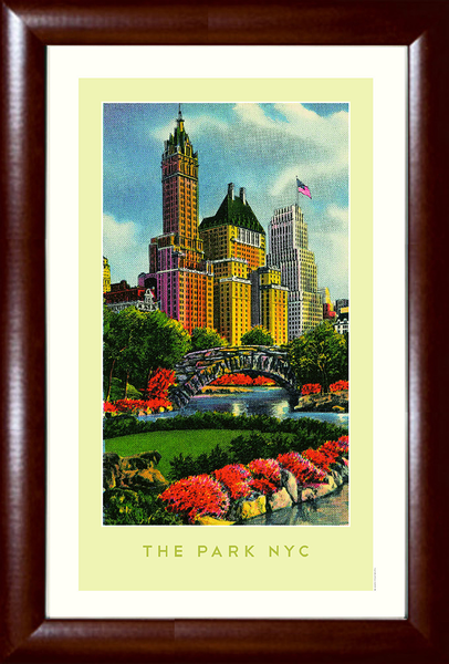 The Park NYC (New York Central Park) Print