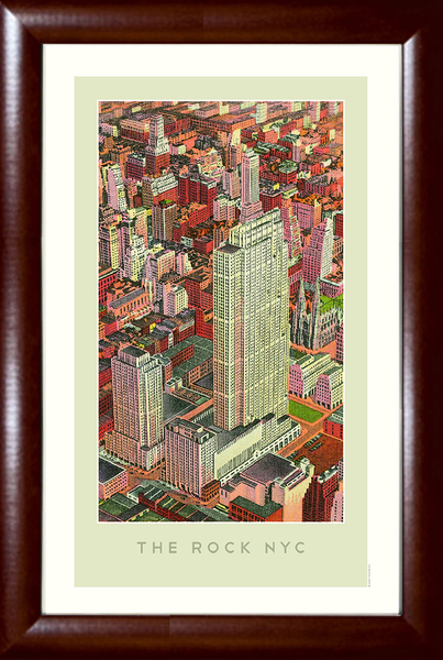 The Rock NYC (Rockefeller Center) Print