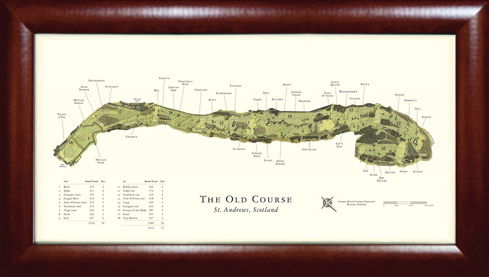 The Old Course at St. Andrews Golf Print