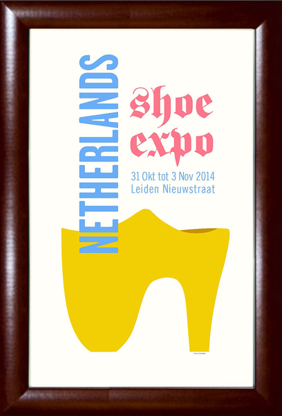 Netherlands Shoe Expo Print