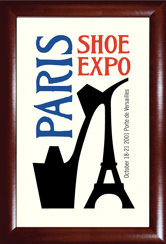 Paris Shoe Expo Print
