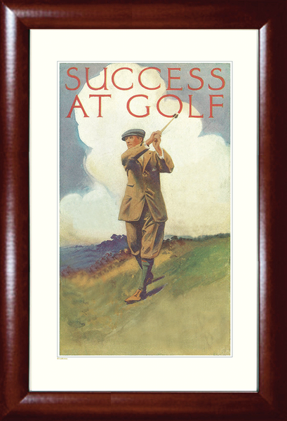 Success at Golf Print
