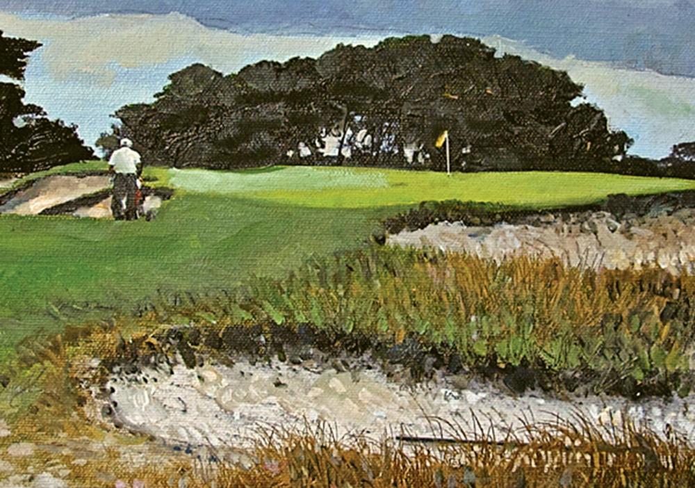 Victoria No. 4 Golf Print by Cooke