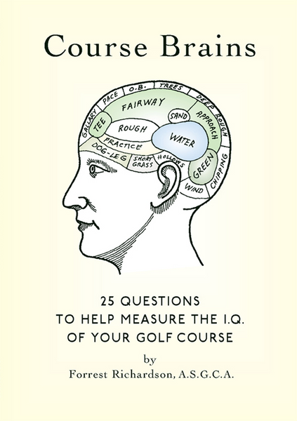 Course Brains Golf Book