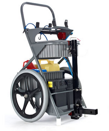 Power Vac Large Service Cart/Mount-The Pool Supply Warehouse