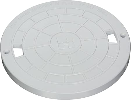 White SP1075 Skimmer Lid-The Pool Supply Warehouse