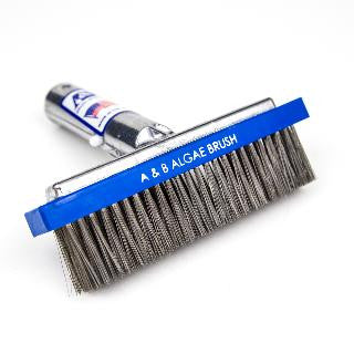 Algae Brush - Stainless Steel 6 1/4""