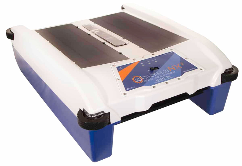 Solar Breeze - Automatic Solar Powered Pool Cleaner NX2 Cleaning Robot