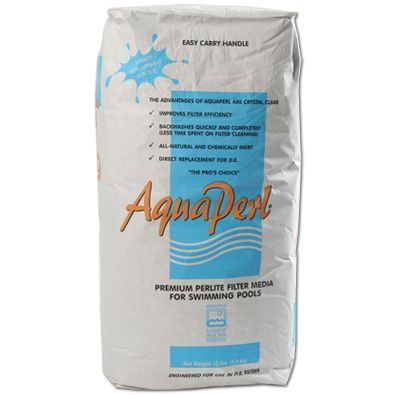 12.5LB AquaPerl® (DE Replacement) - Filter Media - BUCKMANS INC - The Pool Supply Warehouse
