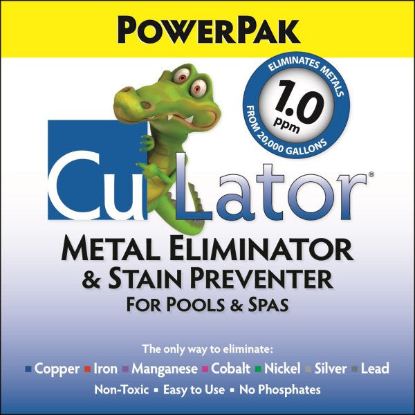 CuLator® PowerPak 1.0 - Metal Eliminator - PERIODIC PRODUCTS LLC - The Pool Supply Warehouse
