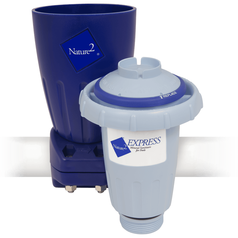 Nature2 Mineral Dispenser for Inground Pool - Alternative Purification - NATURE2 - The Pool Supply Warehouse