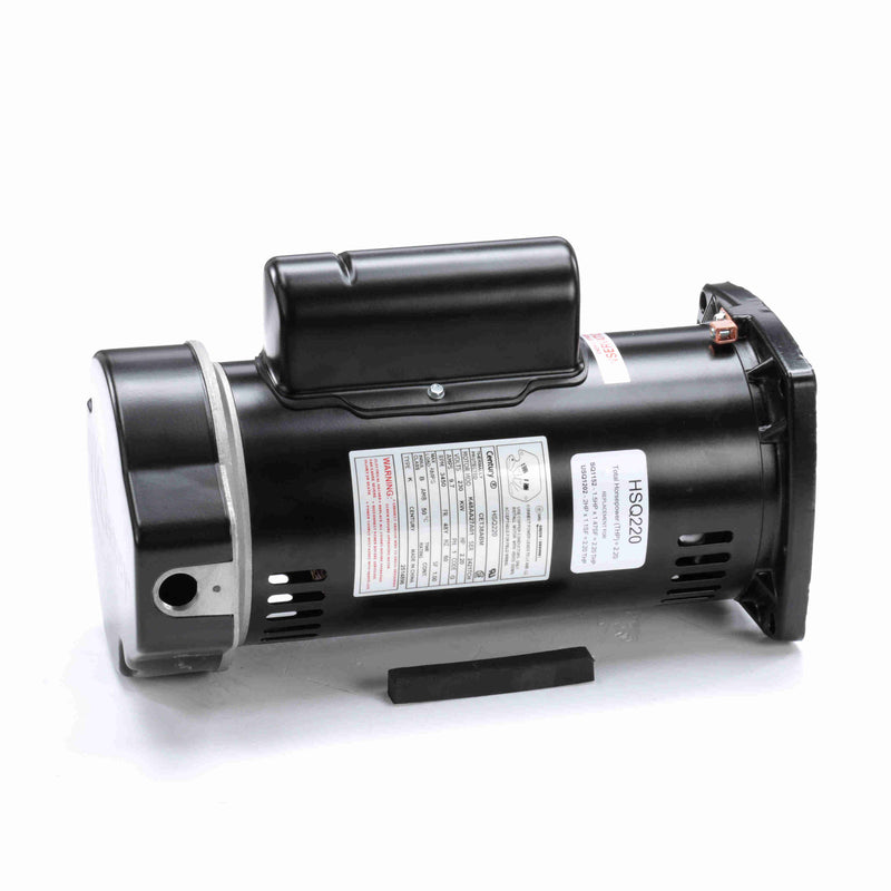 2HP Square Flange Replacement Motor - Motor - REGAL BELOIT AMERICA INC - The Pool Supply Warehouse