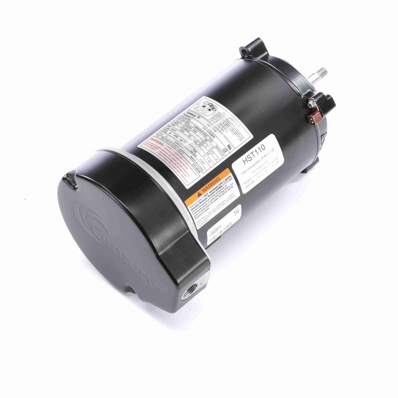1HP Round Flange Replacement Motor-The Pool Supply Warehouse