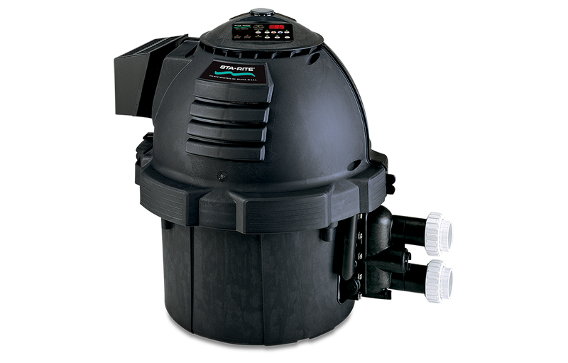 Sta-Rite Max-E-Therm Low NOx Pool Heater | Electronic Ignition | Digital Display | Propane | 400,000 BTU