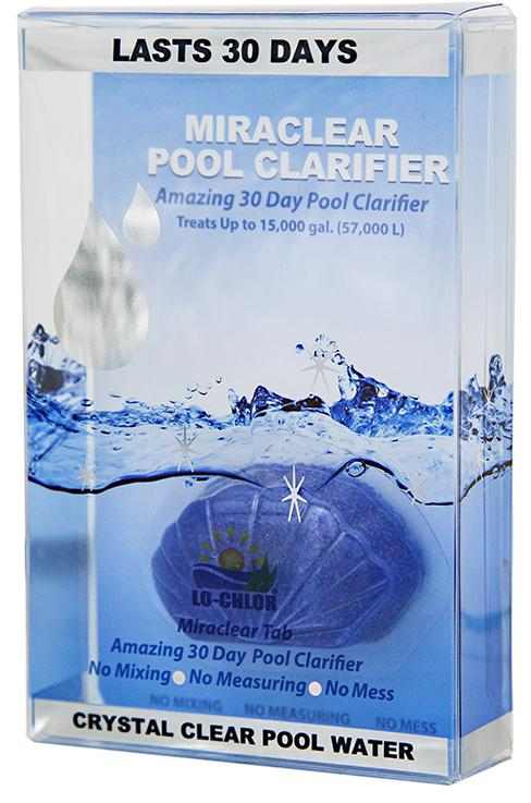 Miraclear® Pool Clarifier Tab 15K Gal-The Pool Supply Warehouse