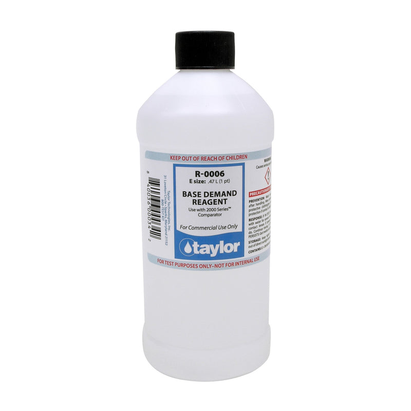 Taylor Replacement Reagent R-0006 16OZ-The Pool Supply Warehouse