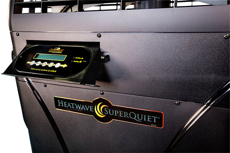 HeatWave SuperQuiet® Variable Speed SQ150VS - Heat Pump - AquaCal - The Pool Supply Warehouse