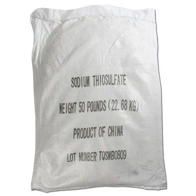 50LB Sodium Thiosulfate-The Pool Supply Warehouse