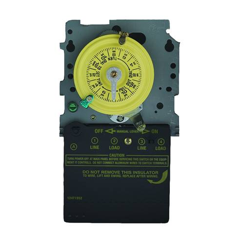 Intermatic T101M 24-Hour Mechanical Time Switch