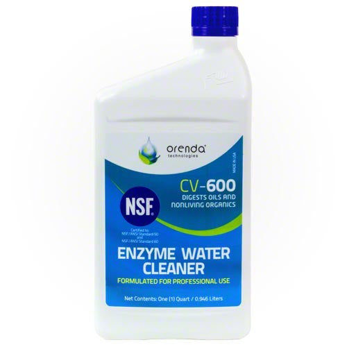 Orenda CV-600 Enzyme Water Cleaner - Quart - Enzyme Water Cleaner - ORENDA TECHNOLOGIES - The Pool Supply Warehouse