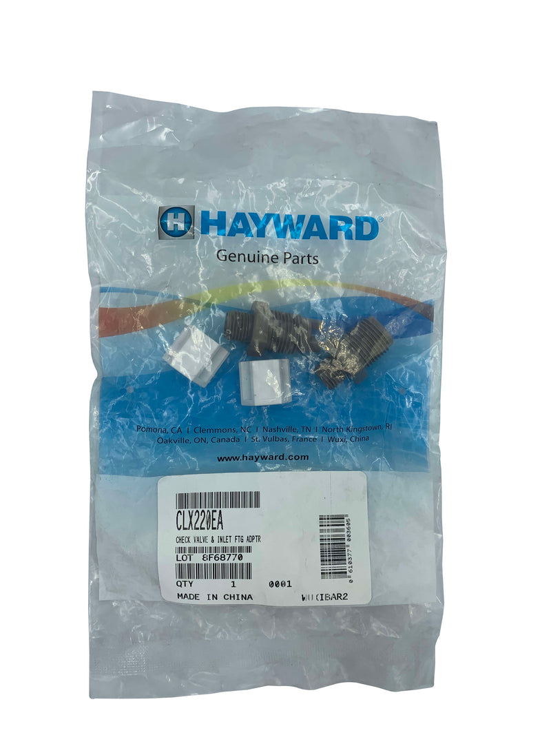 Hayward CLX220EA Check Valve with Inlet Fitting-The Pool Supply Warehouse