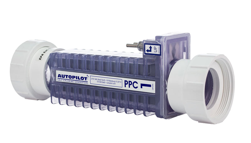 PPC1 Replacement Cell with Unions - Salt Cell - AUTOPILOT SYSTEMS INC - The Pool Supply Warehouse