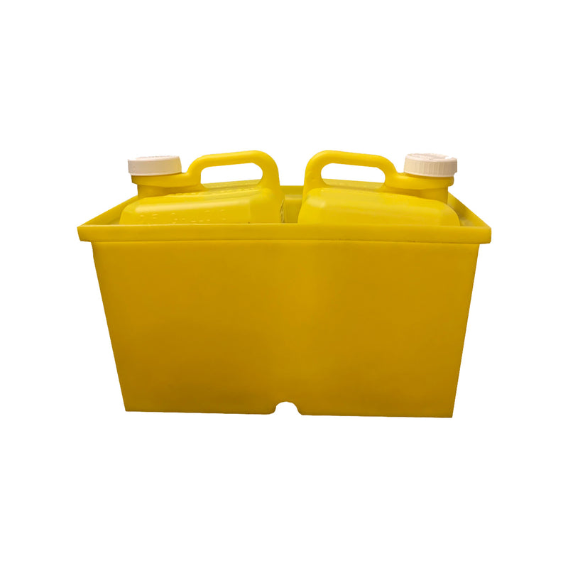 Chlorine Caddy Trunk Box Holds 2 Jerry Jugs-The Pool Supply Warehouse