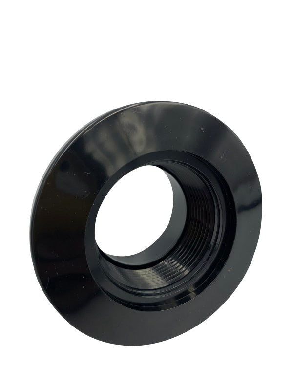 "Super-Pro Gunite Wall Fitting 1-1/2"" FIP x 2"" Socket Black"