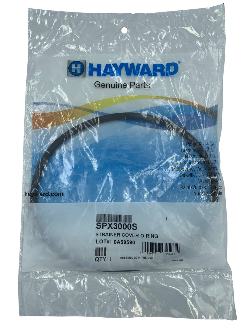 Hayward SPX3000S Strainer Cover O-ring Replacement