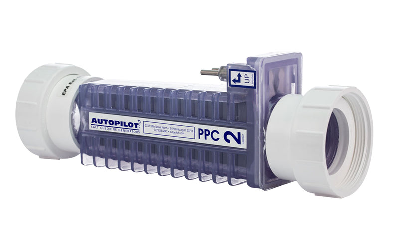 PPC2 Replacement Cell with Unions-The Pool Supply Warehouse
