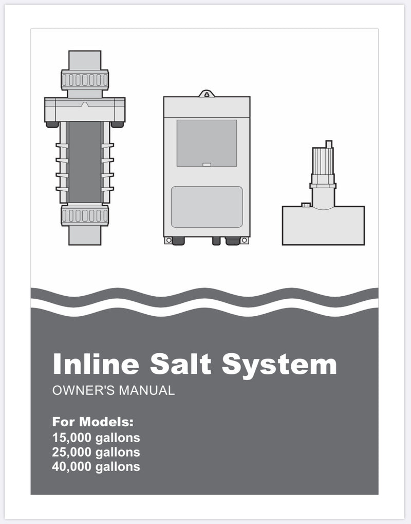 PureChlor Salt Chlorine Generator PDF Manual-The Pool Supply Warehouse