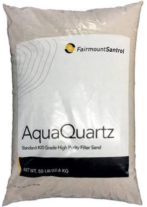 Pool Filter 20-Grade Silica Sand 50 Pounds