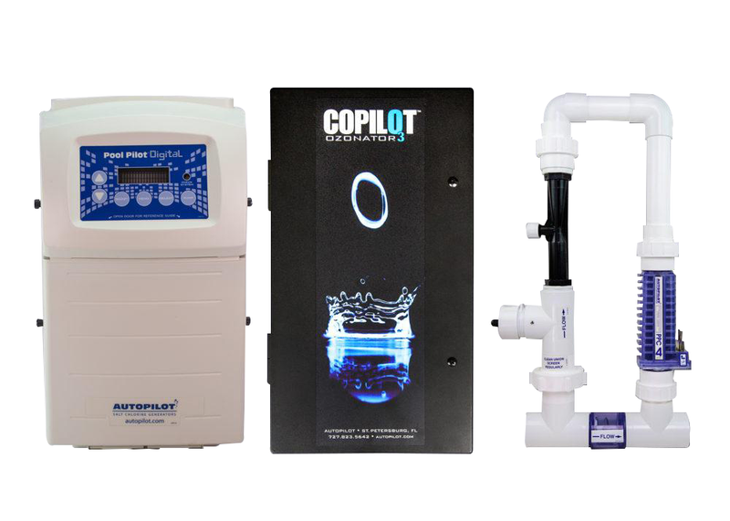 CoPilot® – Digital with CoPilot XL and PPC4 Manifold - Salt Chlorine Generator - AUTOPILOT SYSTEMS INC - The Pool Supply Warehouse