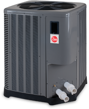 103K 208/230V 1PH M5450 TI-E Digital Heat Pump (RHM-15-6012) - Electric Heater - RHEEM - The Pool Supply Warehouse
