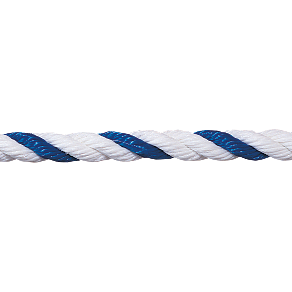 "3/4"" Blue and White Pool Rope - Per Foot - Pool Rope - SUPER-PRO - The Pool Supply Warehouse"